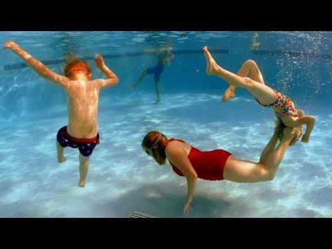 Underwater Tricks to do in the Swimming Pool