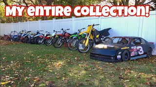 COLD STARTS On The ENTIRE BIKE COLLECTION!