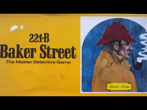 Ep 29: 221-B Baker Street Board Game  Review  (Gammon Games  1975)