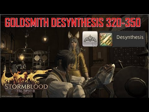 FFXIV - Is it worth Desynthing yellow scrip rings for stormsaps? Let's find out!