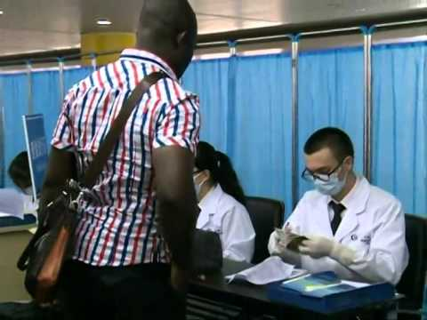 S China city on frontline of Ebola fight