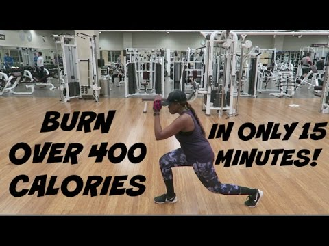 BURN OVER 400 CALORIES IN ONLY 15 MINUTES! | AT HOME OR AT THE GYM! | BRUTAL H.I.I.T WORKOUT