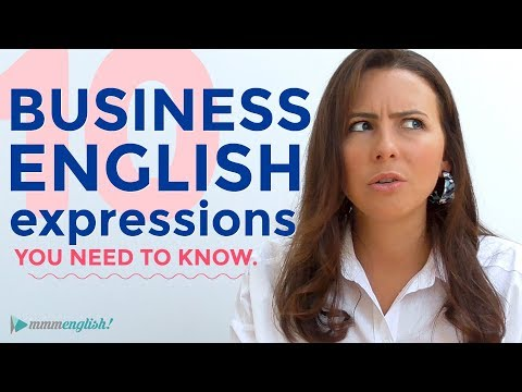 10 Business English Expressions You Need To Know | Vocabulary