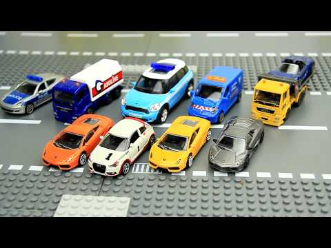 Cars Carrier and truck surprise eggs & cars toys