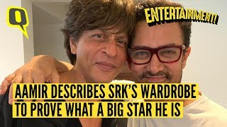 Here is Why Aamir Khan Thinks Shah Rukh Can Never Be a Loser