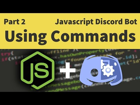 Code a Javascript Discord Bot: Part 2 - Setting up Commands