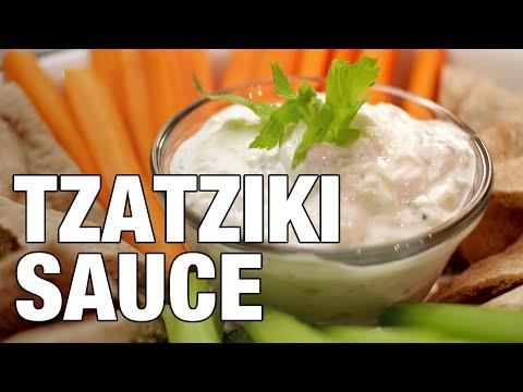 DIY TZATZIKI SAUCE // 5 Minute Recipe