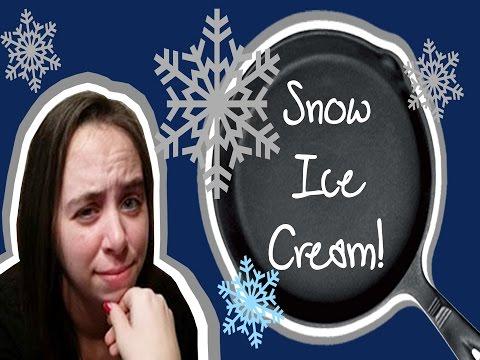 Snow Icecream!!!