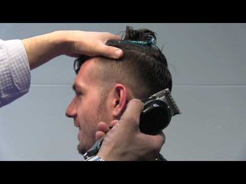 Men's Haircut: How to Do a Fade With a Long Top
