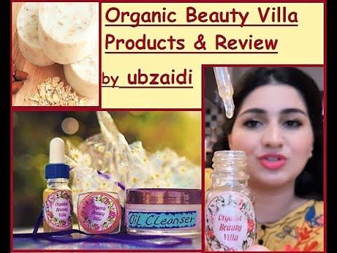 Organic Beauty Villa// Organic Pakistani Beauty Products Review/ 24K Gold Serum/ Body Whitening Soap