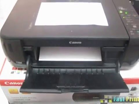 how to test print without software   Canon PIXMA MP287