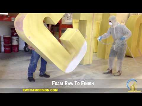 How to Create 3D Signs Using a Foam Company or Factory