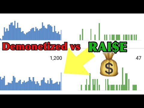 DID YOUTUBE JUST GIVE US A RAISE?!?! DEMONITIZED vs RAISE