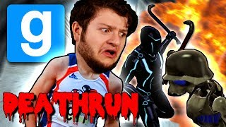 Gmod DEATHRUN Funny Moments - RIGHT, RIGHT, RIGHT - LEFT! (Garry