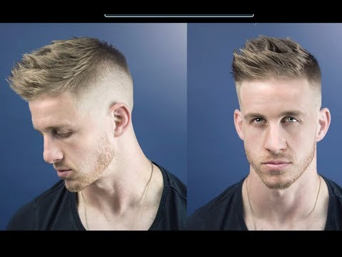 How to Cut and Style a Military-Inspired High and Tight Men's Haircut