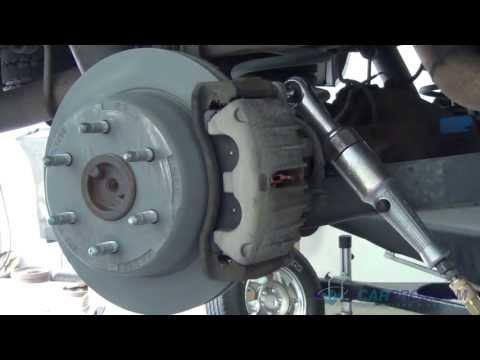 Rear Brake Pads & Rotor Replacement Chevrolet Tahoe, Suburban 2000-2013