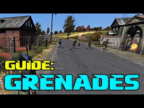 DayZ Grenade Guide | Smoke, Flash & Frag Grenades