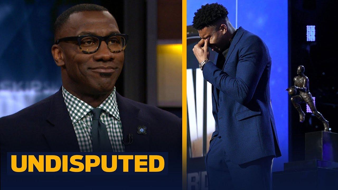 'It was a great moment': Shannon Sharpe on Giannis winning MVP & emotional speech   NBA   UNDISPUTED