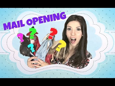 MAIL OPENING DOLL HAUL - Subscriber mail + treats for myself!