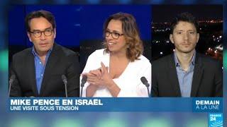 Le vice-président américain Mike Pence en Israël