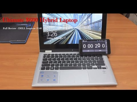 Dell Inspiron 3148 | in-depth Review | 2 in 1 Hybrid Laptop | 11.6' Touch