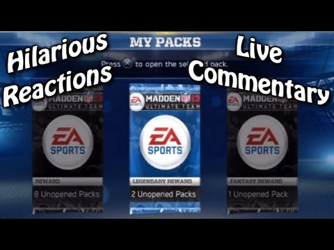 Live MUT Start Madden 13: Started Ultimate team @ 2:00 am; Hilarious Singing, & Goofy Entertainment