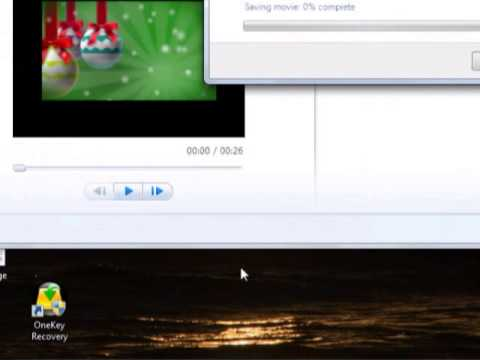 How to burn dvd in Windows 7, Live movie maker