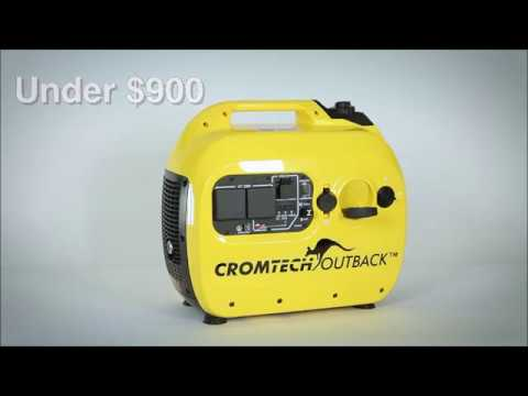 Small generator for home backup power