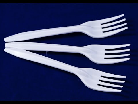 What can be made out of PLASTIC FORKS ?