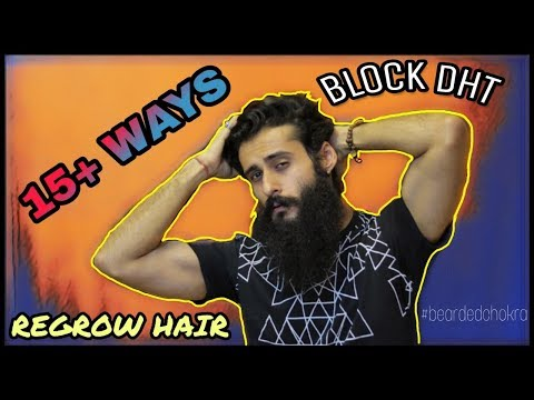 How to stop dht in hair naturally -