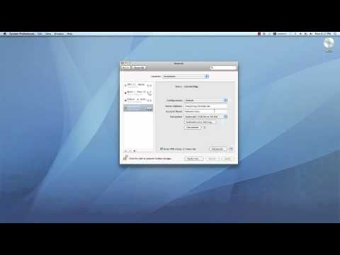 How to create VPN connection in Mac OSX