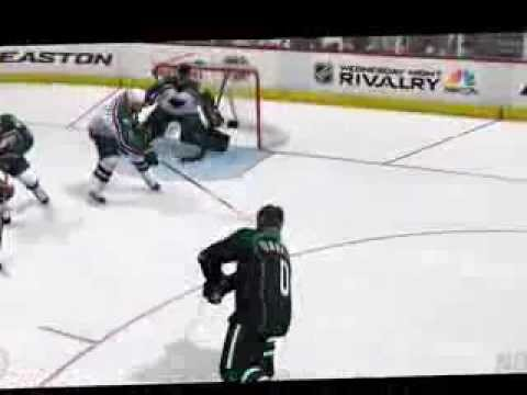 NHL14 - Goalie Save - Big Blocker Save