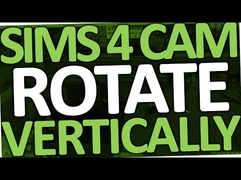 Sims 4 - How to Rotate Camera Vertically (PC & Laptop)