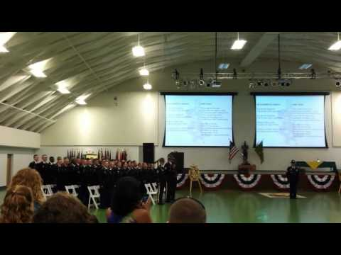 The Army Song -  Charlie Rock - 787th MP Battalion 12-11 - July 14, 2011