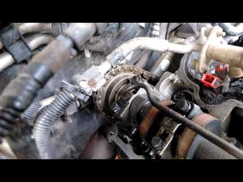 2003 Ford Explorer 4.0L Timing Chain Tensioner Locations