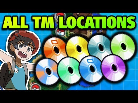 How & Where to Get ALL TMs in Pokémon Ultra Sun and Moon – All TM Locations in Ultra Sun and Moon