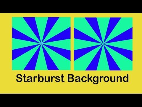Make a Starburst Background In Adobe Photoshop