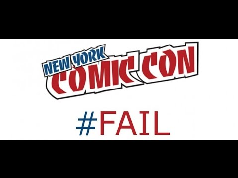 comic-con fail #NYCC 2015  ticketing system needs to be fixed