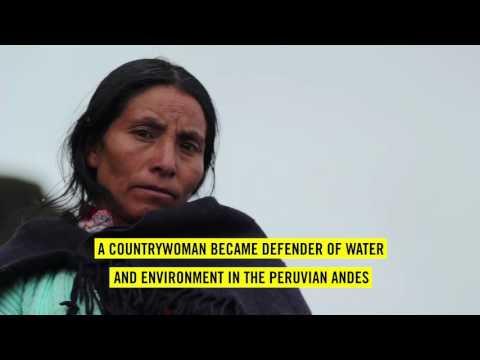 Write for Rights 2016 | Máxima Acuña