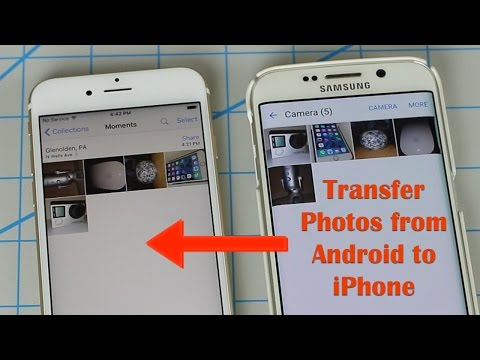 How to Transfer Photos from Android to iPhone