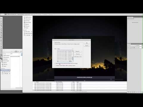 OPEN MULTIPLE FILES INTO LAYERS: PHOTOSHOP TUTORIAL