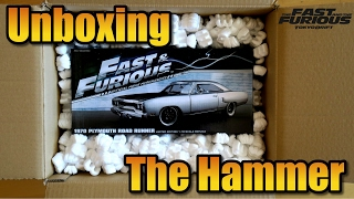 [Unboxing] Diecast Fast and Furious The Hammer (1970 Plymouth Road Runner)
