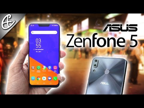 ASUS Zenfone 5 w/ iPhone X Notch & Dual Cameras - Hands On!