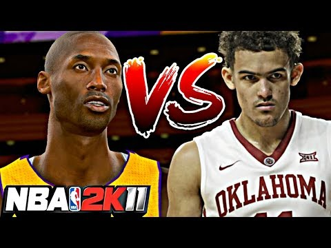 NBA 2K11 MyPLAYER TRAE YOUNG #11 - 99 OVERALL KOBE IS THE GOAT! TRIGGA TRAE DISRESPECTED KOBE LEGACY