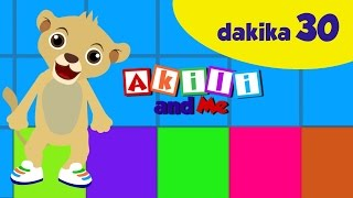 Rangi na Maumbo   Akili and Me   Learn Swahili colors and shapes!