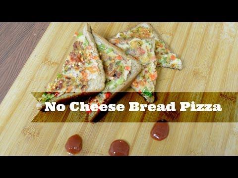 No Cheese - Bread Pizza