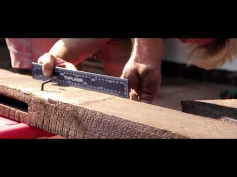 Bosch Masterclass: DIY Board Rack - www.wemakeit.co.za