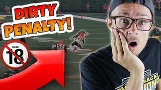 SUPER DIRTY PENALTY COST HIS TEAM THE GAME?? Madden 18 Super Hero Series