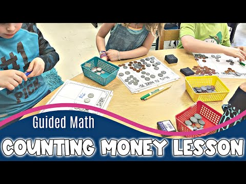 Guided Math: Counting Money Lesson
