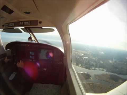 My Cross-Country Solo for Private Pilot License 2012-12-09